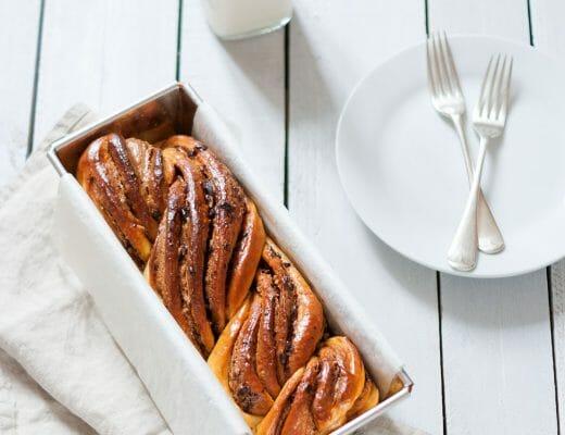 Krantz cake babka spéculoos chocolat | Lilie Bakery