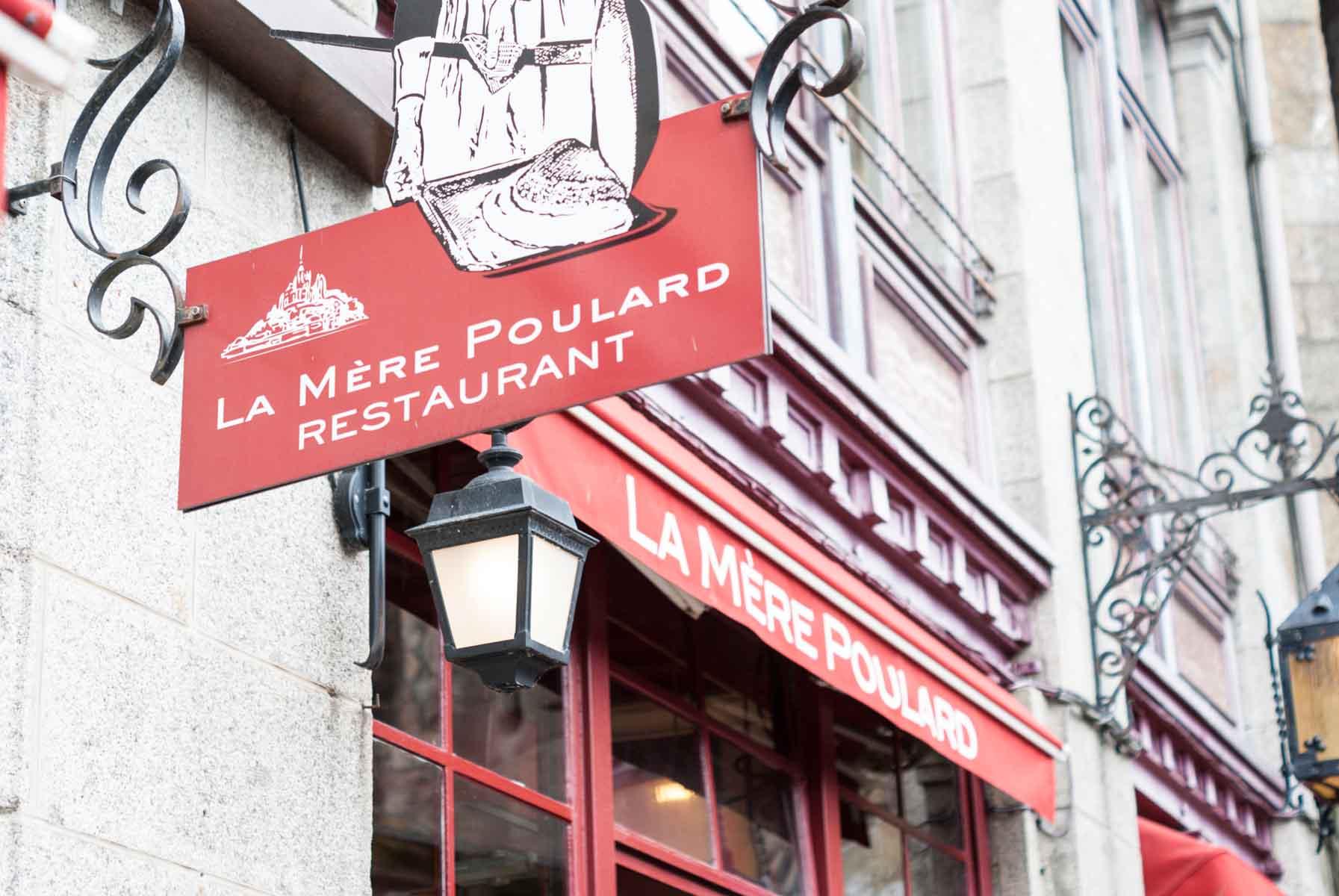 restaurant la mère poulard | Lilie Bakery