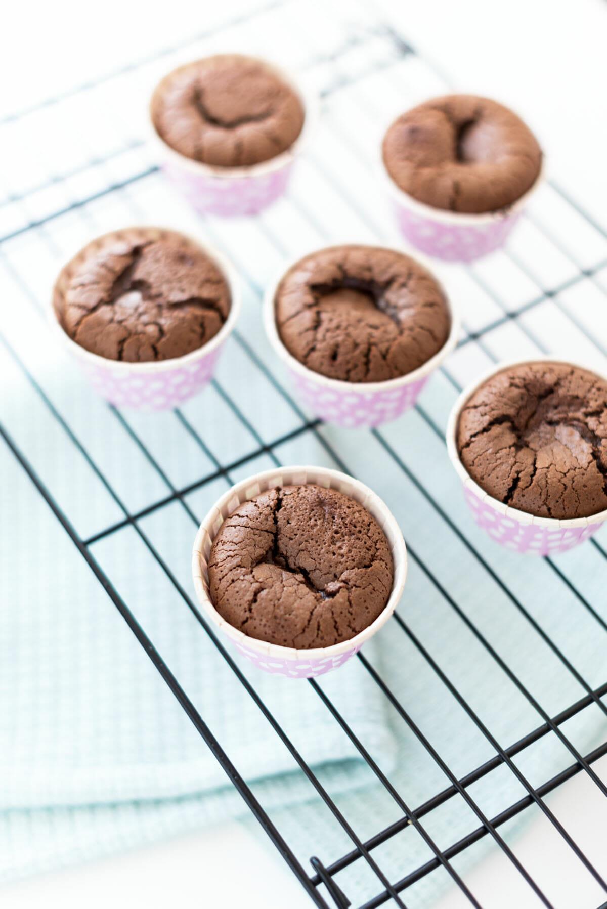 Moelleux Chocolat au Coeur Coulant | Lilie Bakery