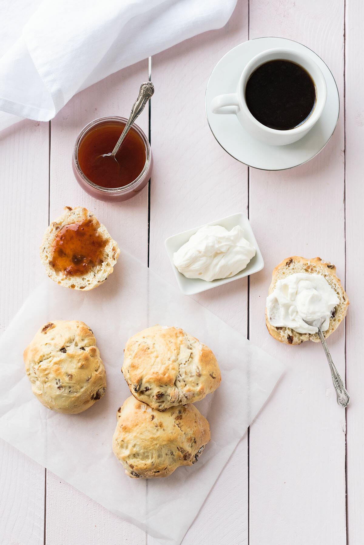Scones raisins secs - Test Magimix Cook Expert Lilie Bakery