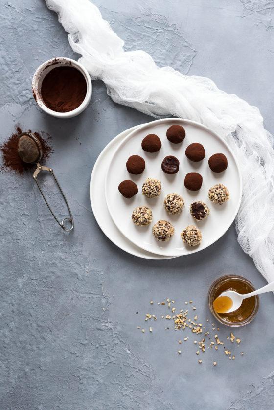 Truffes Chocolat Miel Noisettes | Lilie Bakery