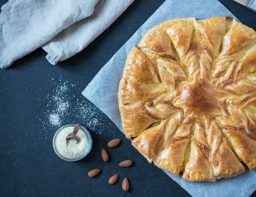 Tarte soleil crème amandes | Lilie Bakery