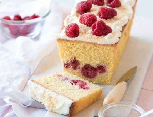 Cake Framboise Citron Chantilly | Lilie Bakery