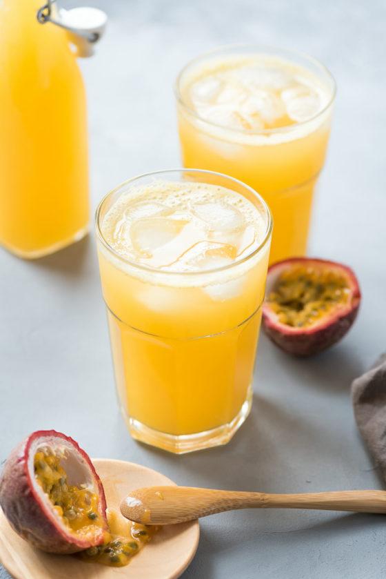 Limonade fruit de la passion - Lilie Bakery