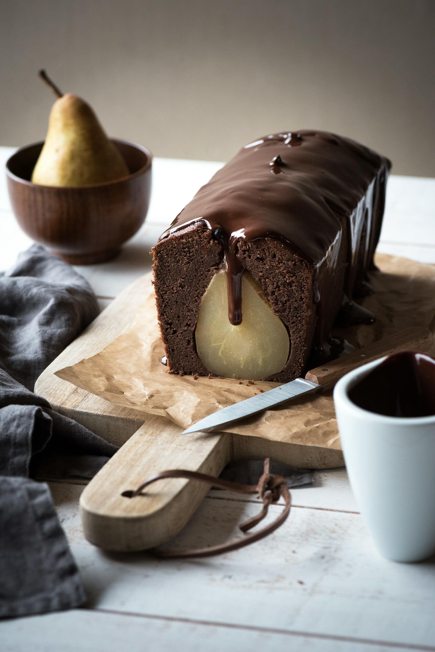 Cake Poire Chocolat Lilie Bakery Recettes