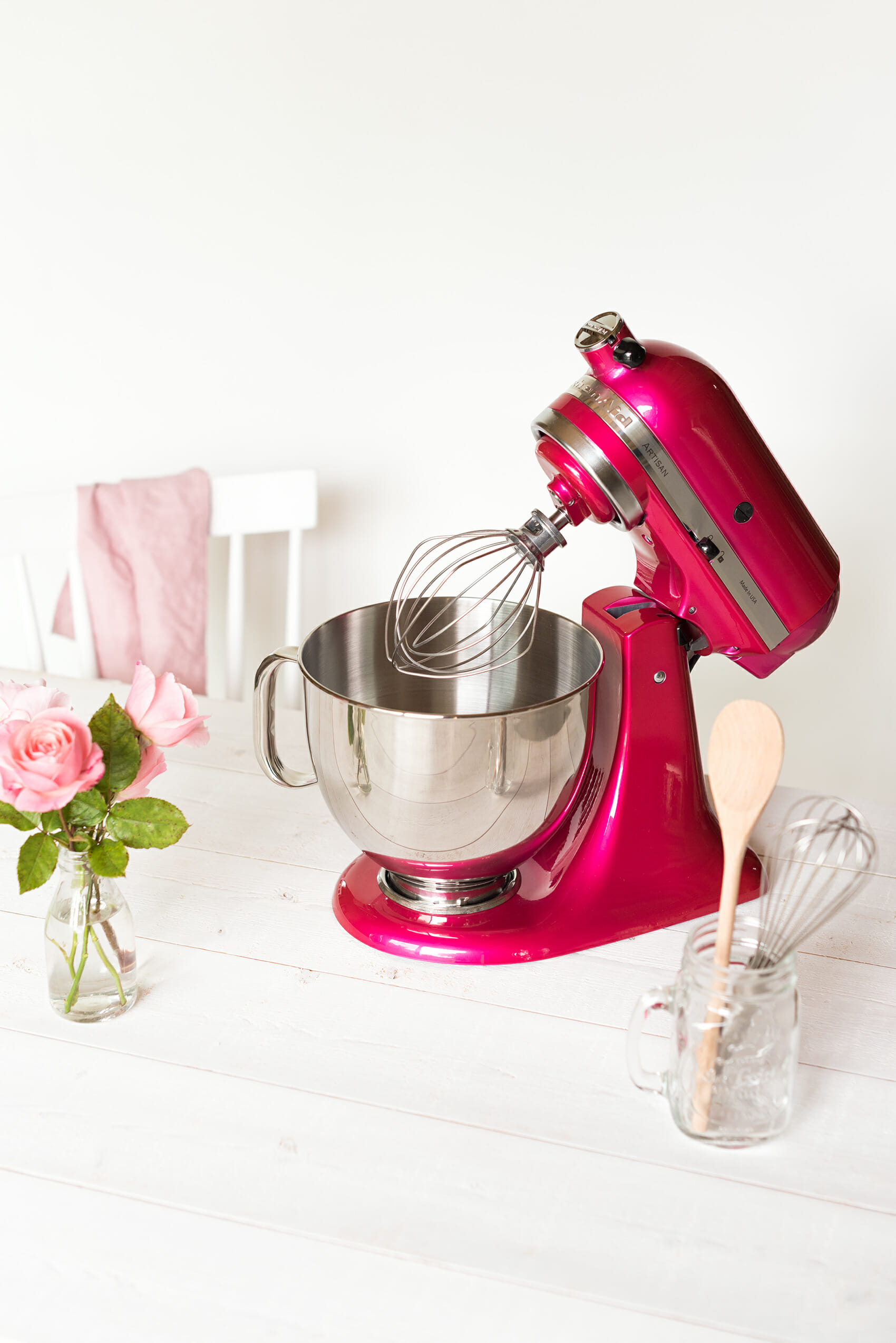 Octobre Rose Kitchenaid Lilie Bakery