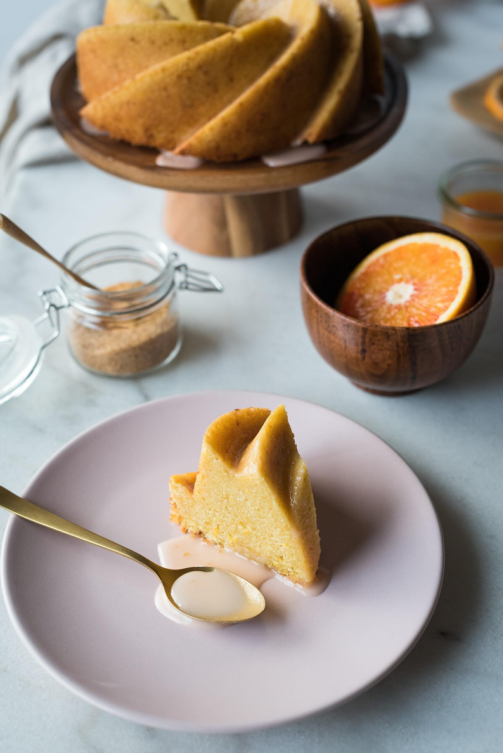 Bundt cake à l'orange - Lilie Bakery