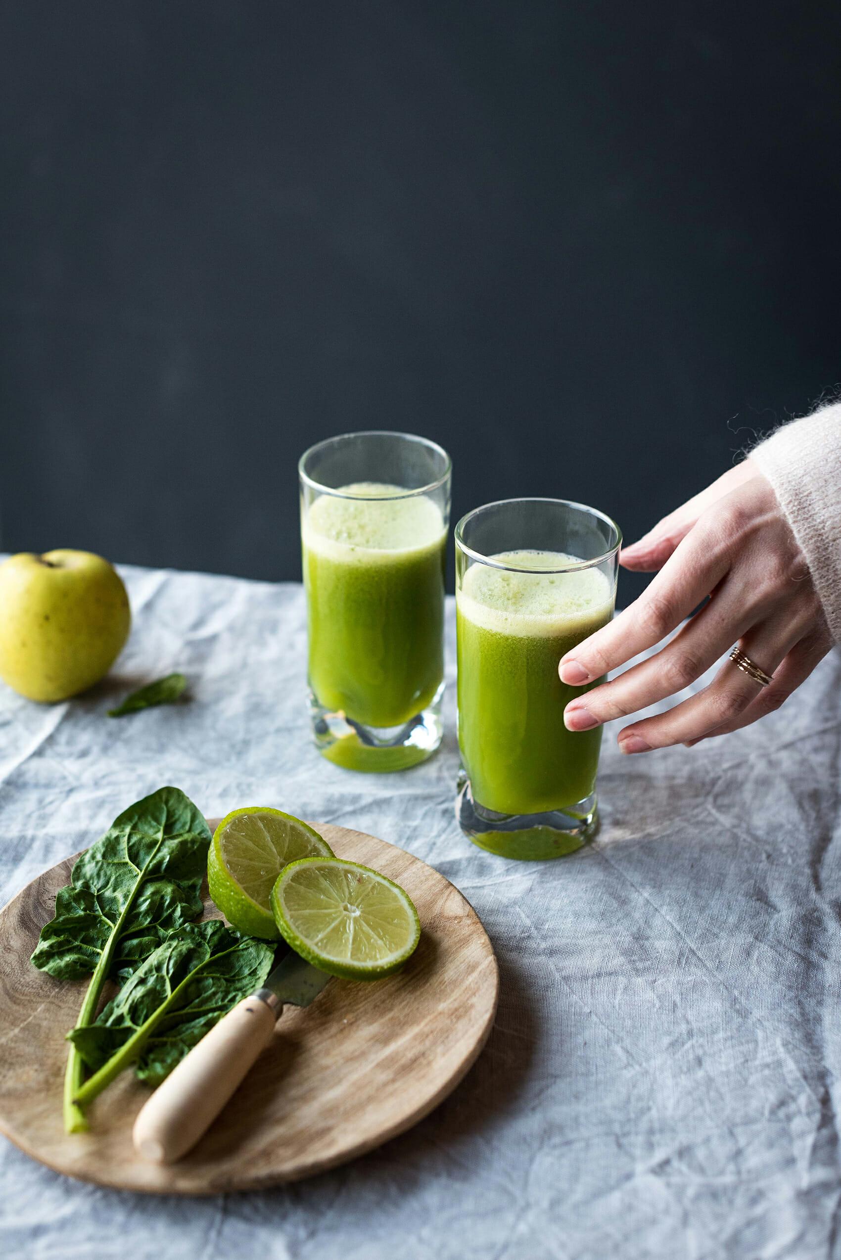 Jus vert green juice - Lilie Bakery