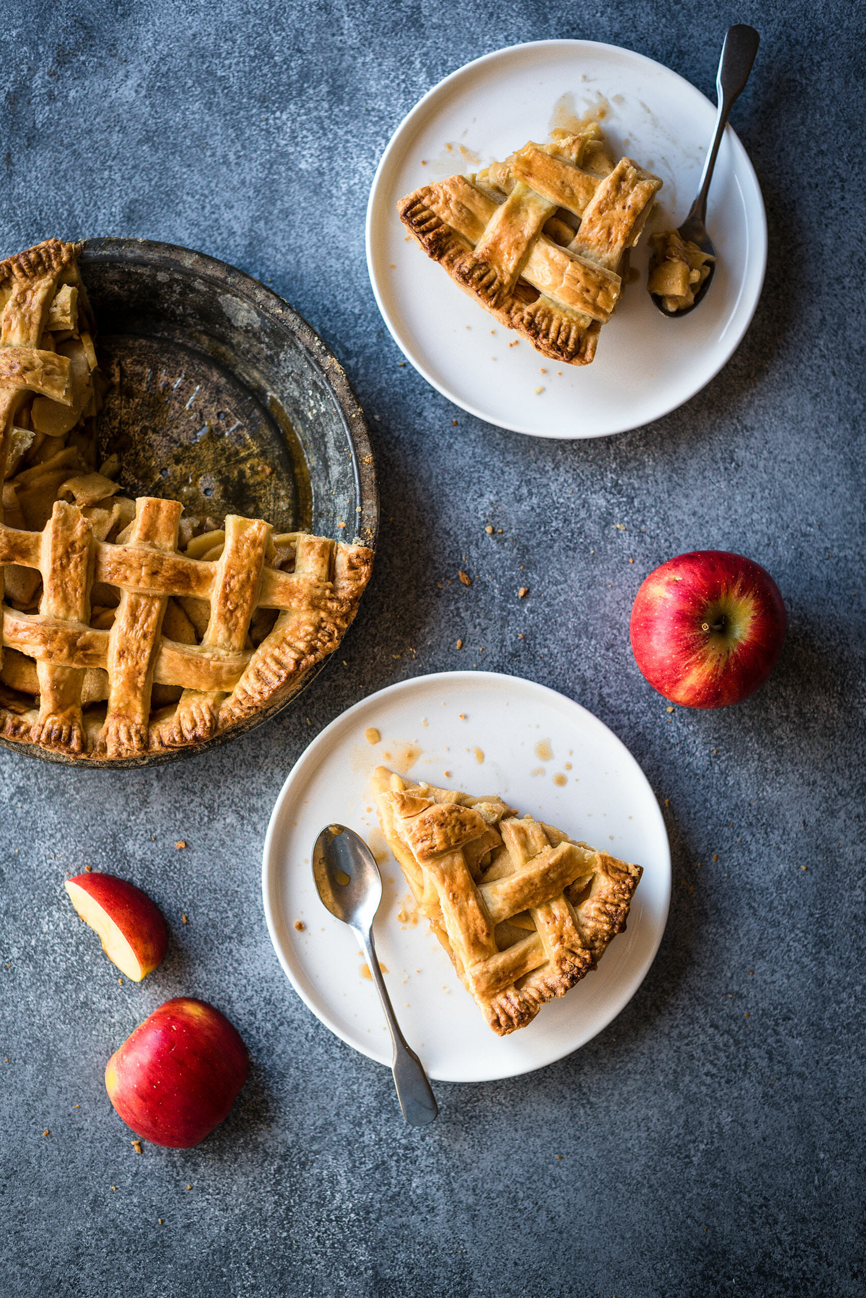 Apple pie - Tourte pomme cannelle - Lilie Bakery