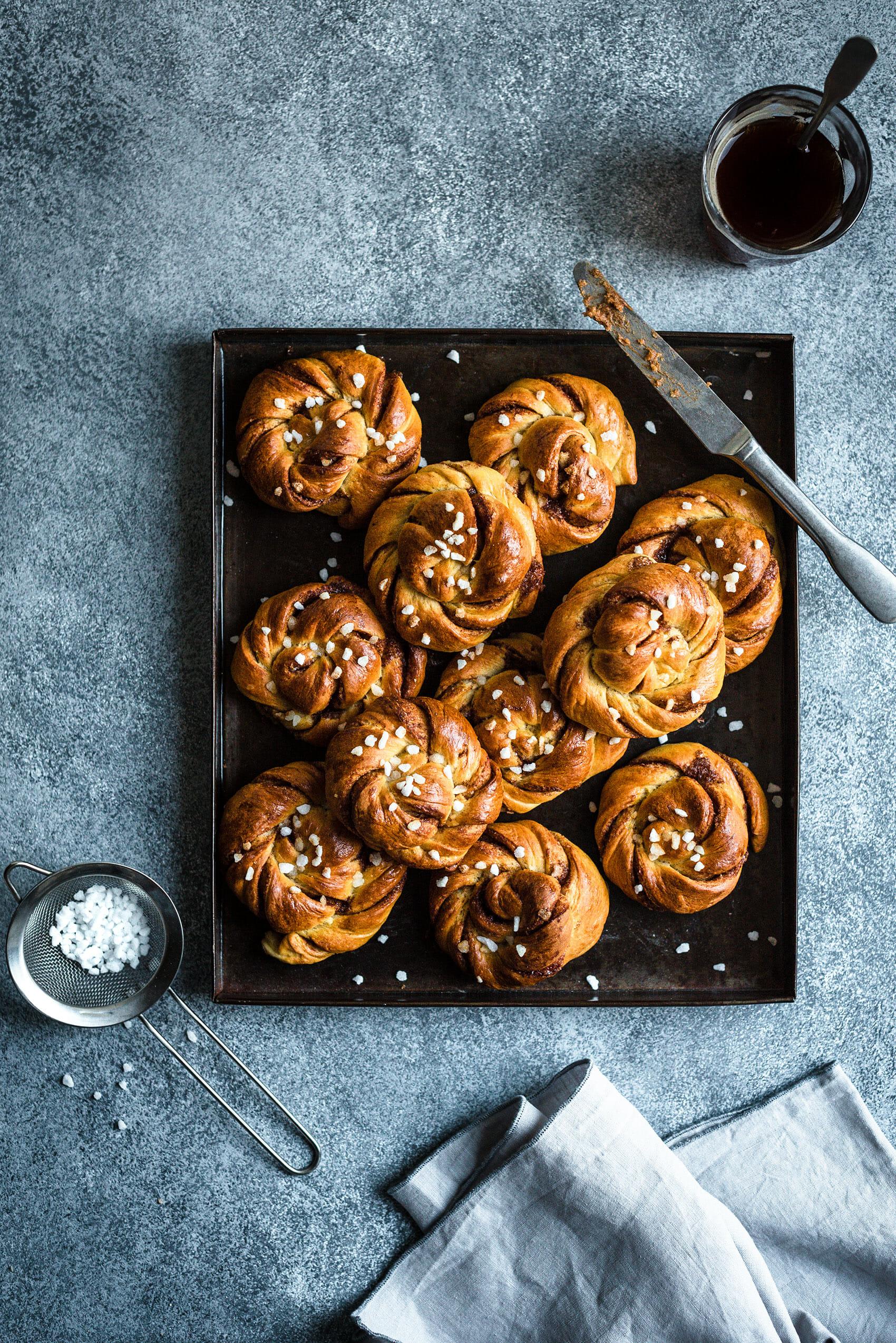 Brioches suédoises à la cannelle Kanelbullar - Lilie Bakery