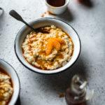 Riz au lait vanillé caramel de clémentine - Lilie Bakery 2