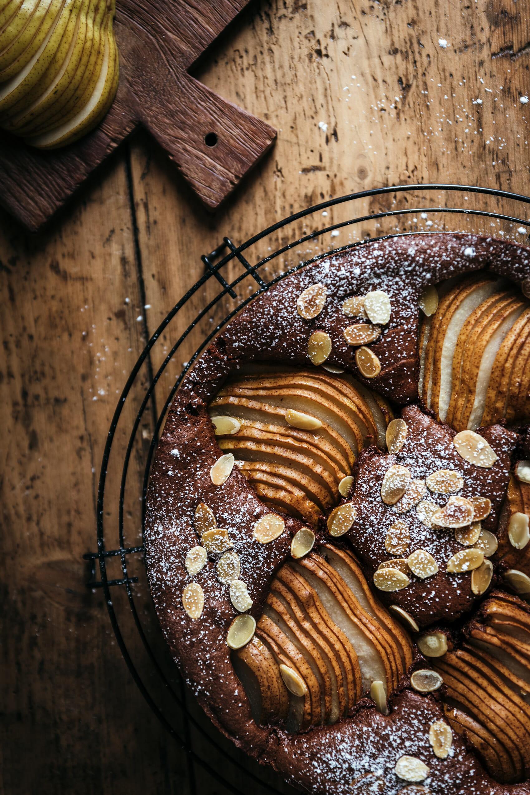 Moelleux poire-chocolat - Lilie Bakery