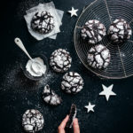 Cookies craquelés chocolat - Lilie Bakery