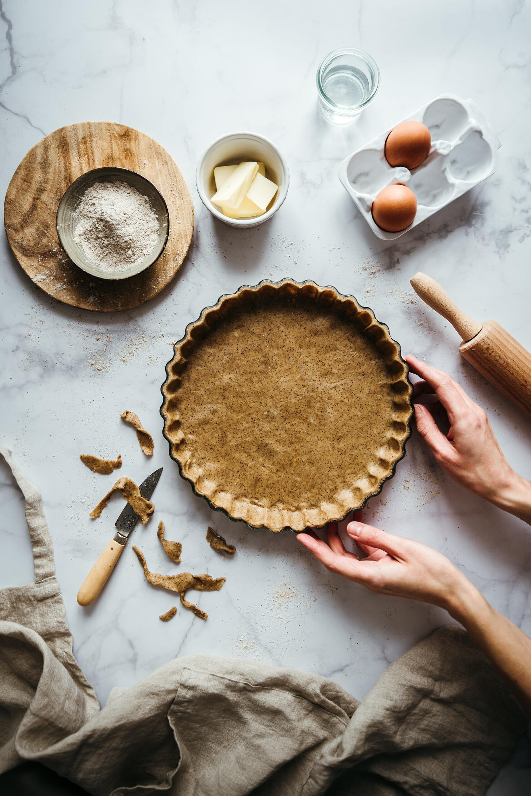 Pâte brisée sarrasin - Lilie Bakery