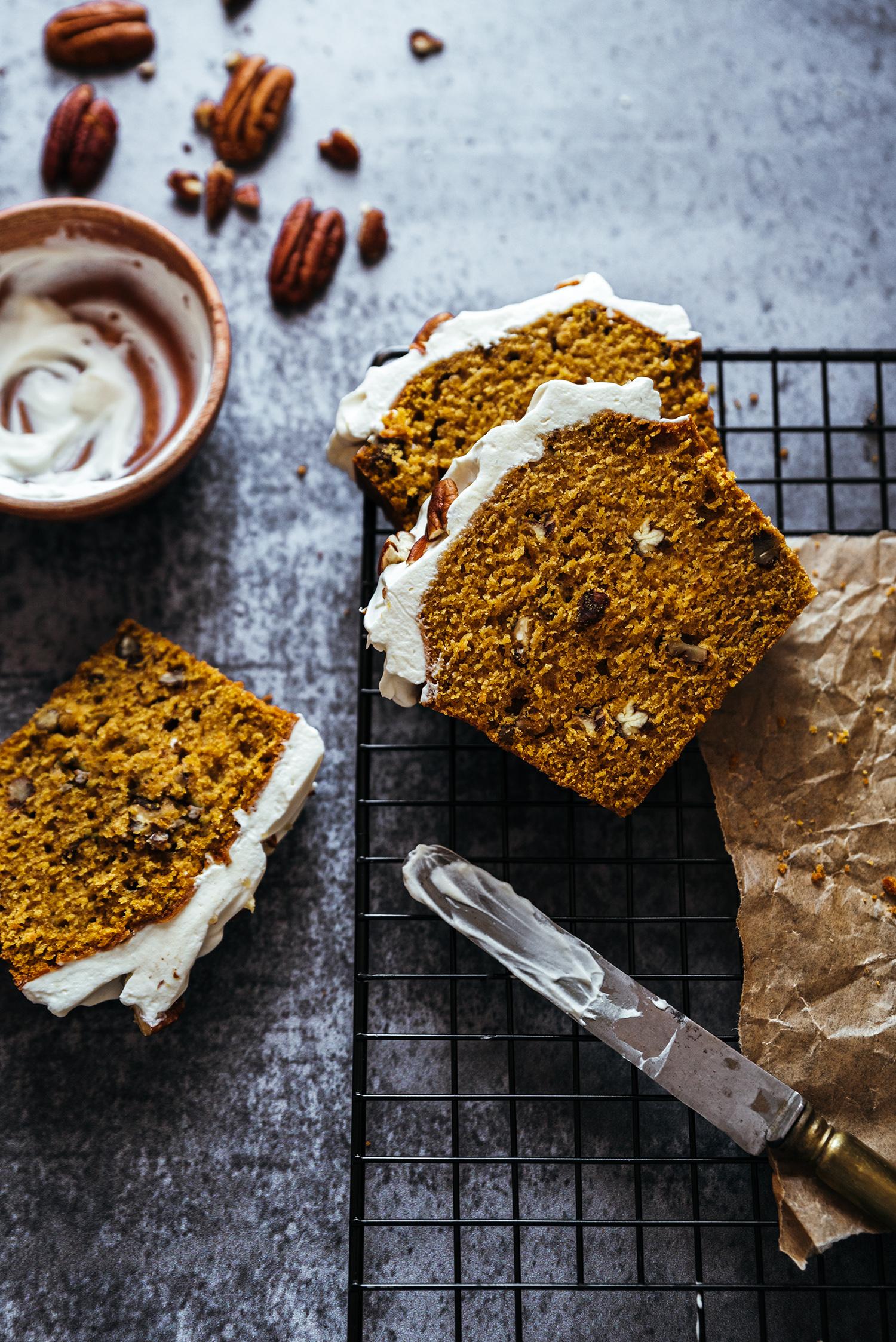 Cake butternut noix de pécan - Lilie Bakery