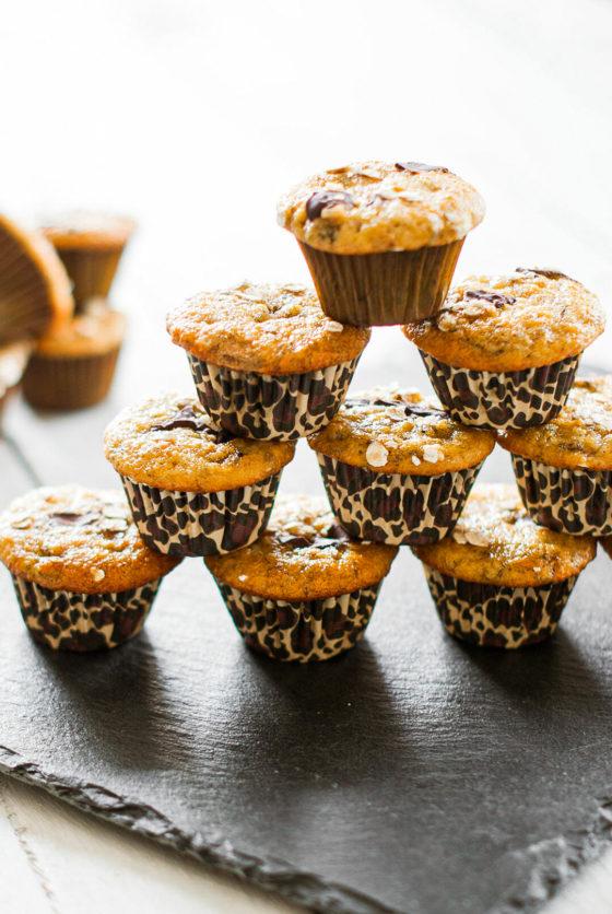 Muffins banane chocolat - Lilie Bakery