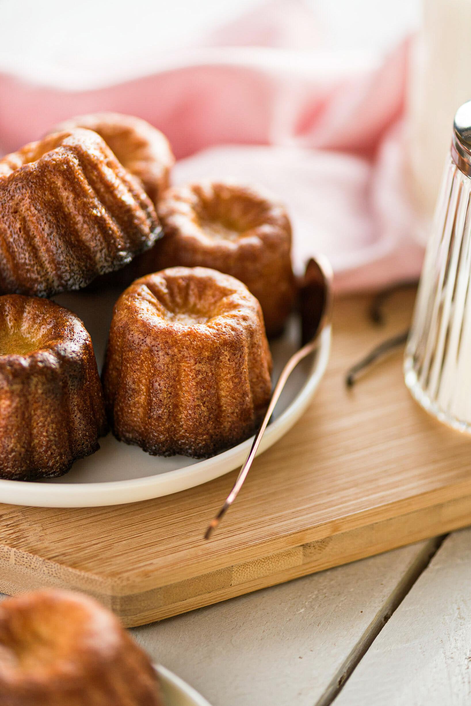 Cannelés bordelais recette - Lilie Bakery
