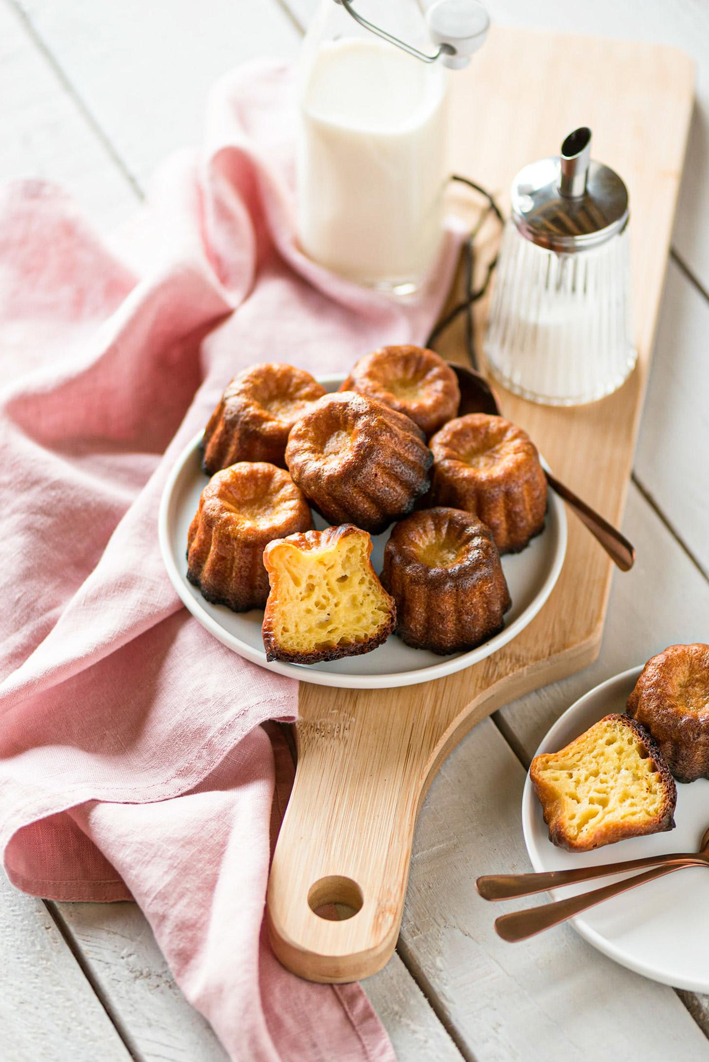 Cannelés bordelais recette facile - Lilie Bakery