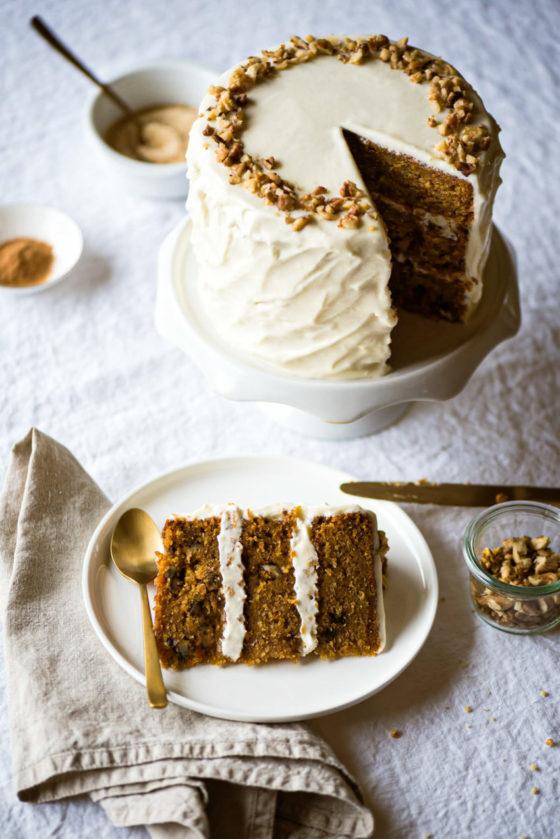 Carrot cake recette - Lilie Bakery