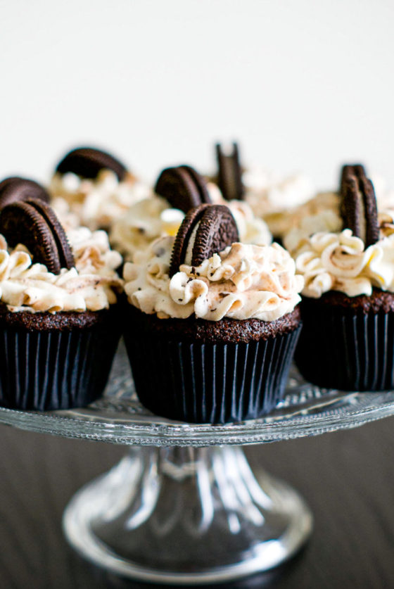 Cupcakes oreo recette - Lilie Bakery