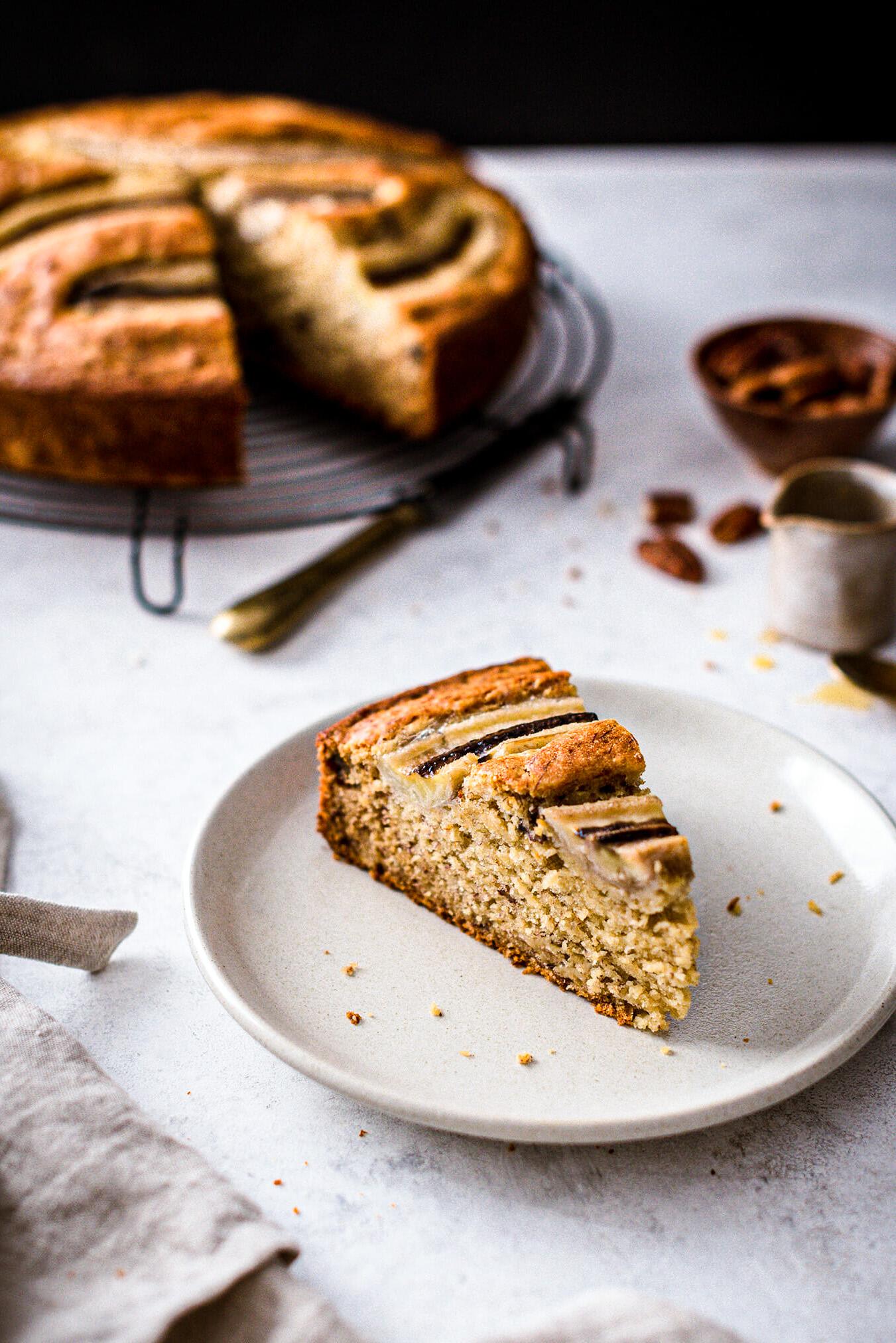 Gâteau banane moelleux recette - Lilie Bakery