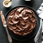 Gâteau chocolat vegan - Lilie Bakery