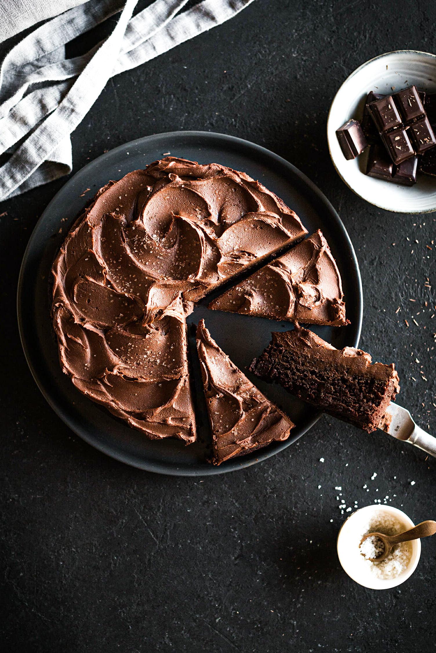 Gâteau chocolat vegan recette - Lilie Bakery