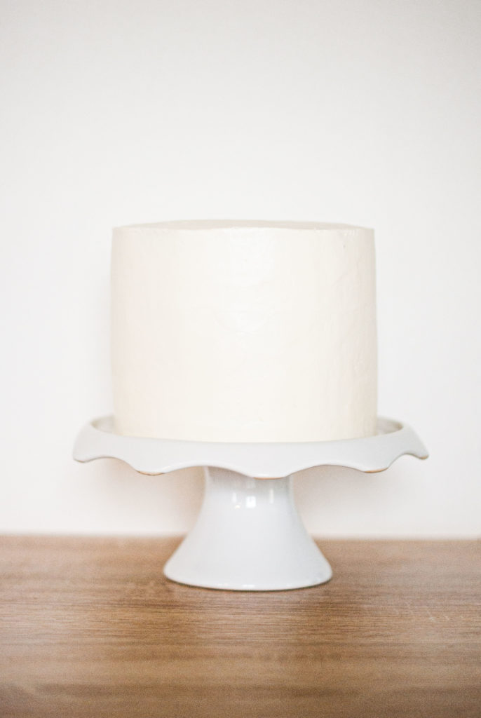 Glaçage layer cake - Lilie Bakery