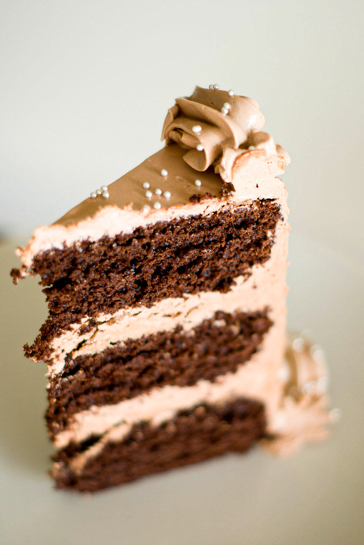 Layer cake chocolat recette - Lilie Bakery