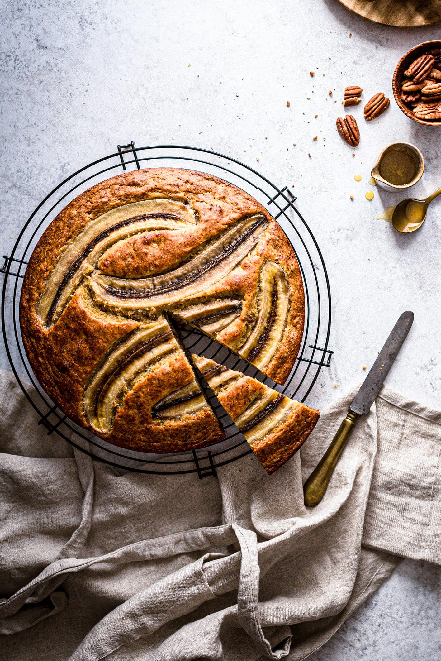 Recette gâteau banane - Lilie Bakery