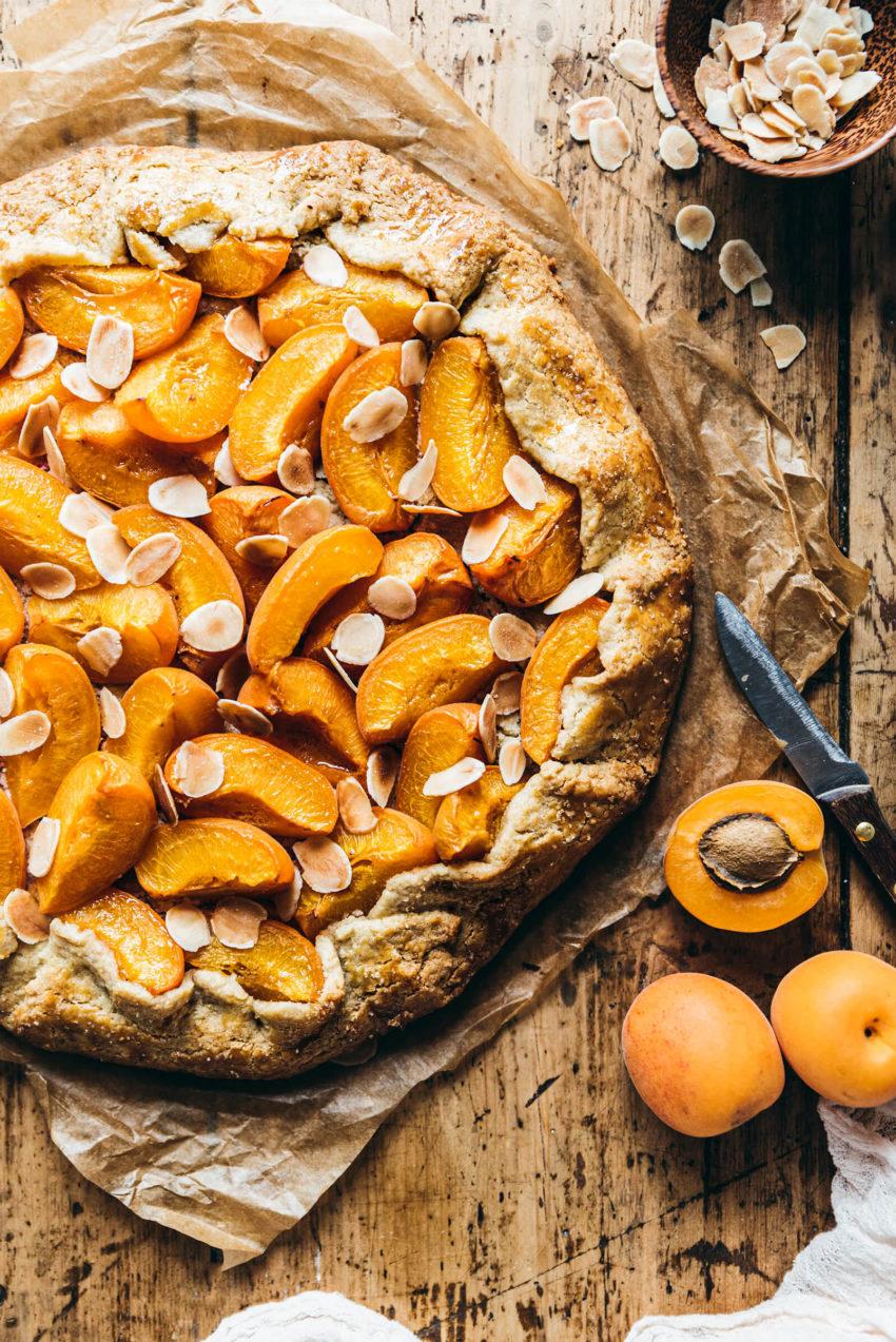 Tarte abricot amande recette - Lilie Bakery