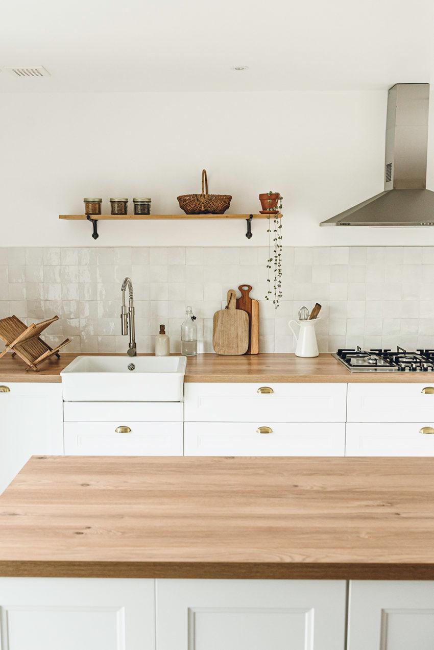 Cuisine blanc bois - Lilie Bakery