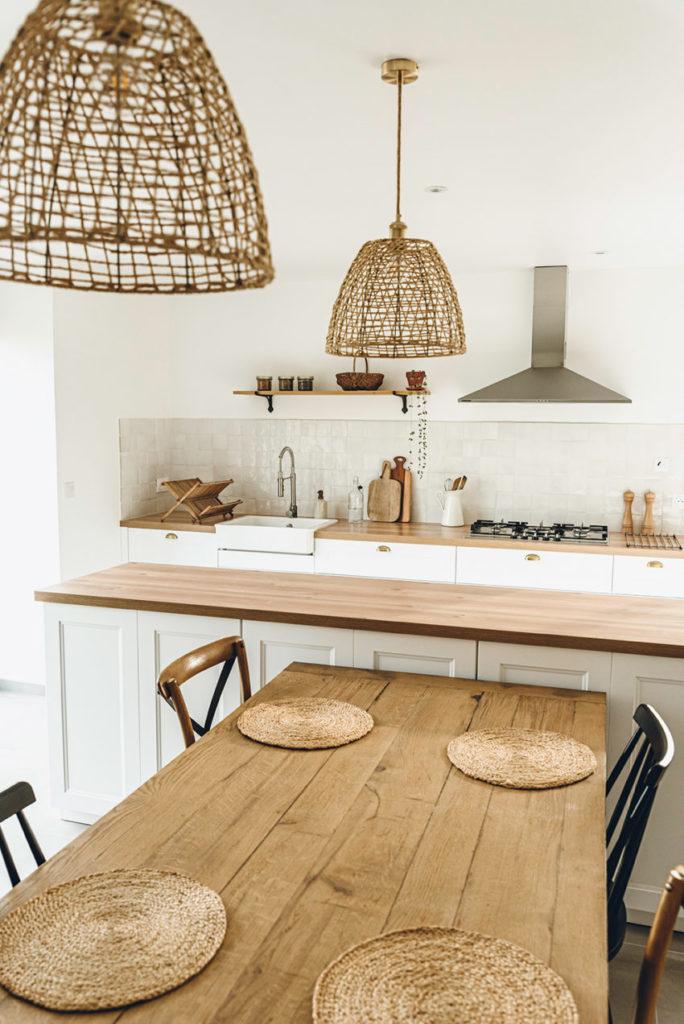 Cuisine style campagne rénovation - Lilie Bakery