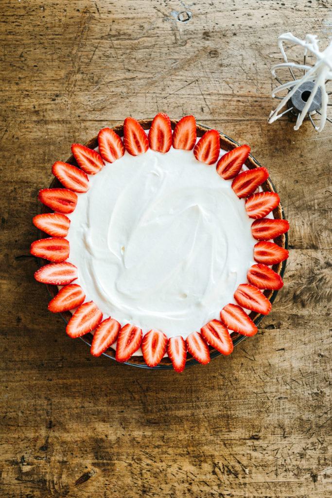 Pas-à-pas tarte aux fraises Cyril Lignac - Lilie Bakery