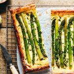 Tarte aux asperges ricotta parmesan - Lilie Bakery