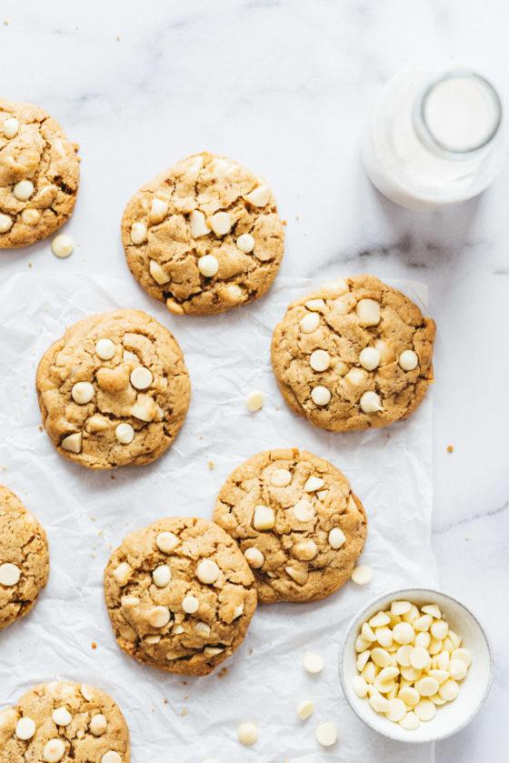 Cookies chocolat blanc macadamia - Lilie Bakery