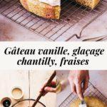 Strawberry mascarpone vanilla cake - Lilie Bakery