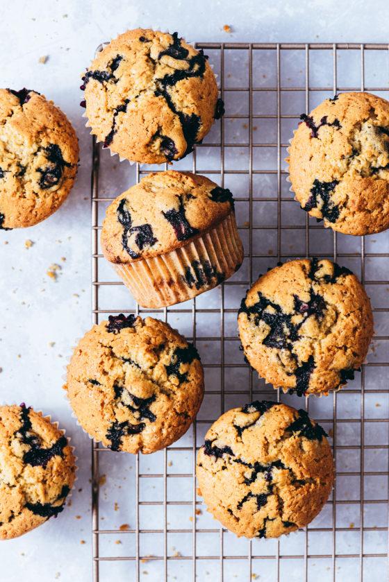Muffins aux myrtilles - Lilie Bakery