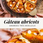 Very soft apricot almond cake - Lilie Bakery