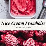 Nice cream banane framboise - Lilie Bakery
