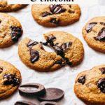 Cookies sans beurre pépites chocolat Lilie Bakery