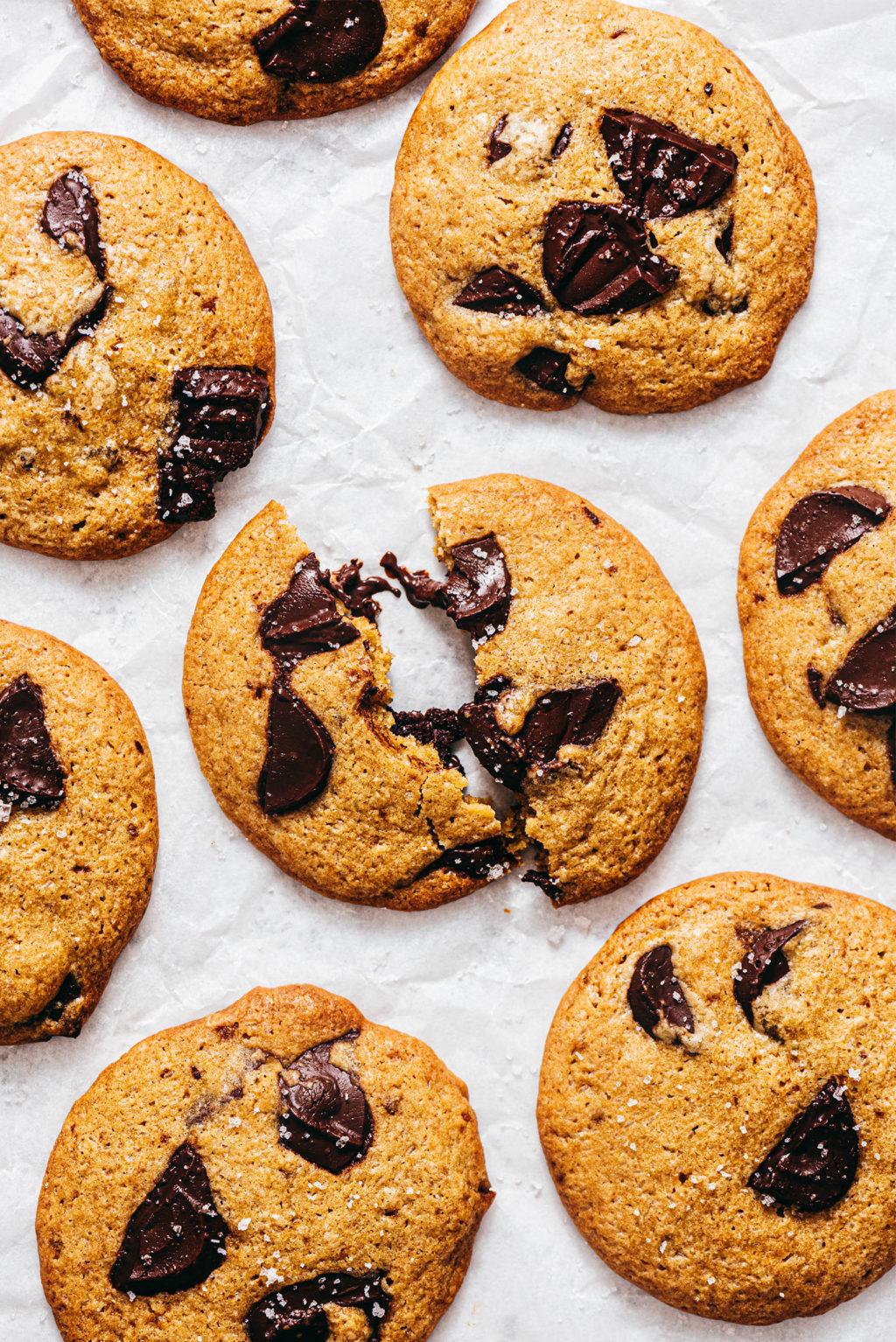 Cookies sans beurre pépites chocolat - Lilie Bakery