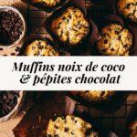 Muffins noix de coco chocolat - Lilie Bakery