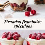 Raspberry speculoos tiramisu - Lilie Bakery